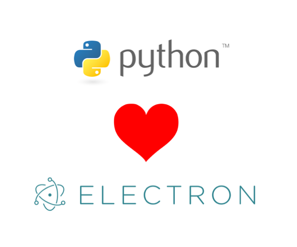 Combine Electron and Python with this code template